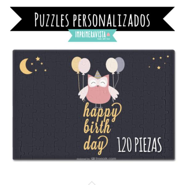 puzzle para personalizar tamaño folio