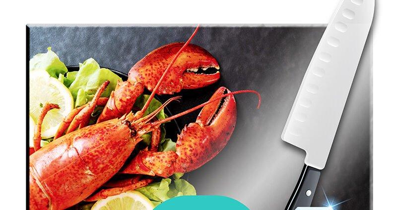 tabla de cortar alimentos personalizada