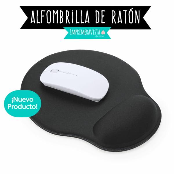 alfombrilla de ratón ideal para regalar personalizada con almohadilla