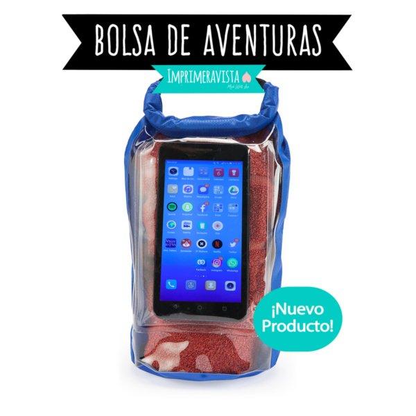 Bolsa hermética para llevar el móvil en deportes de aventura