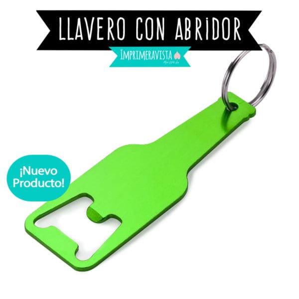 LLAVERO ABRIDOR METÁLICO