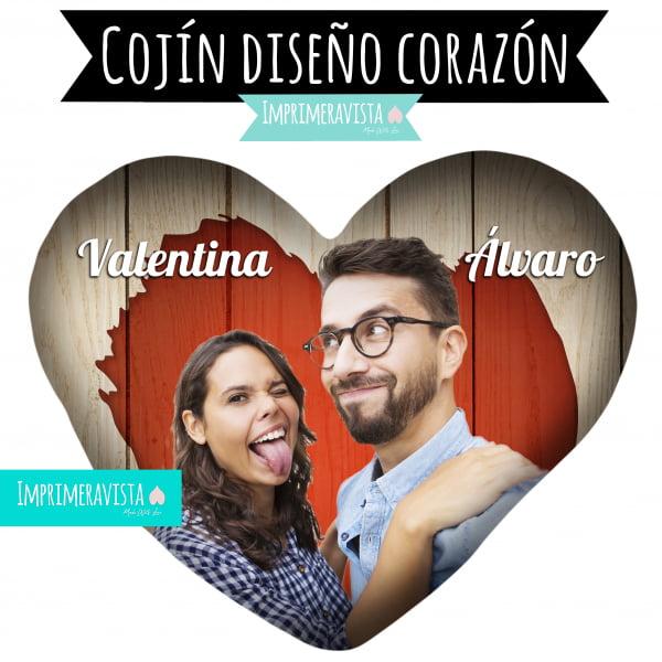 COJIN CON FORMA DE CORAZÓN diseño programa
