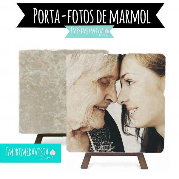 porta fotos piedra de marmol personalizada con una foto
