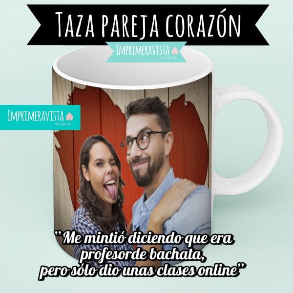 taza con pareja diseño citas tv first dates