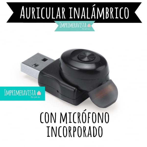 auricular inalámbrico